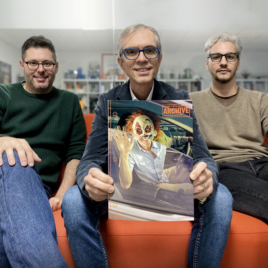 Riccardo Ciunci, Gianluca Adami e Francesco Scapin