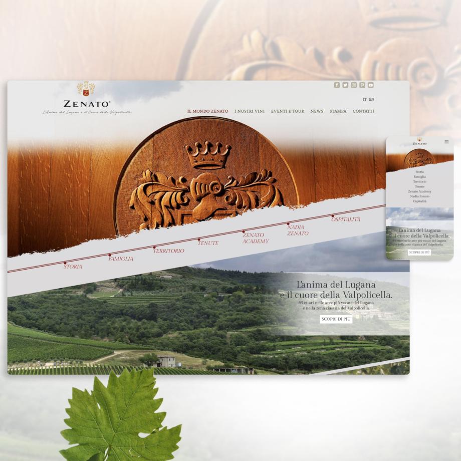 Sito web Zenato