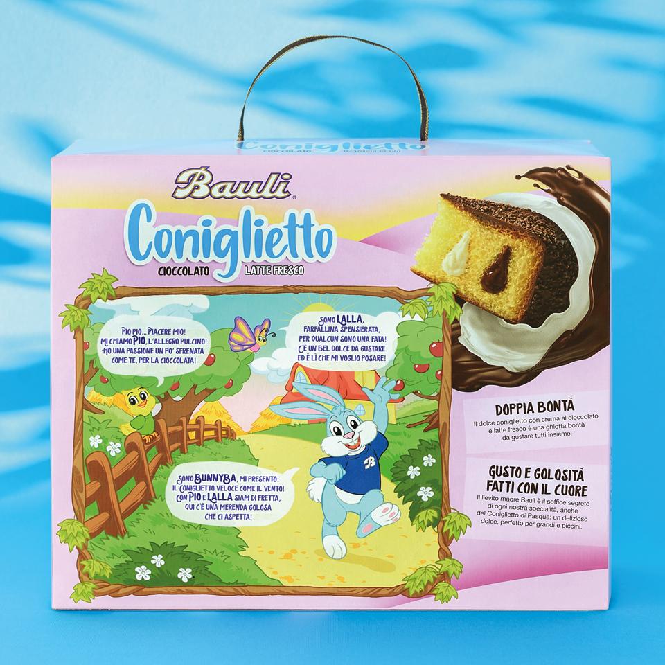 Pack coniglietto Bauli 2021